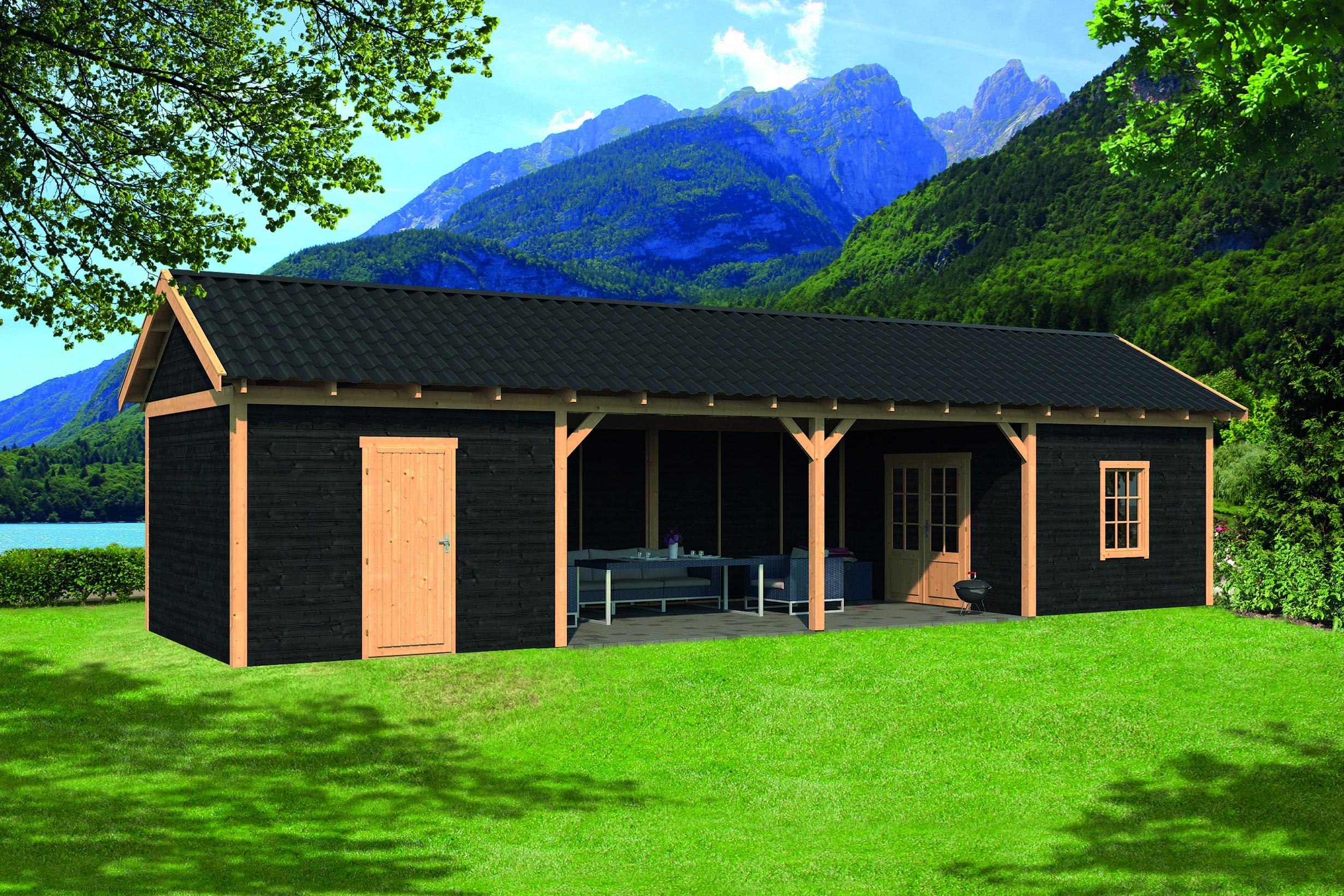 Montovaná chata Hamar 12 L