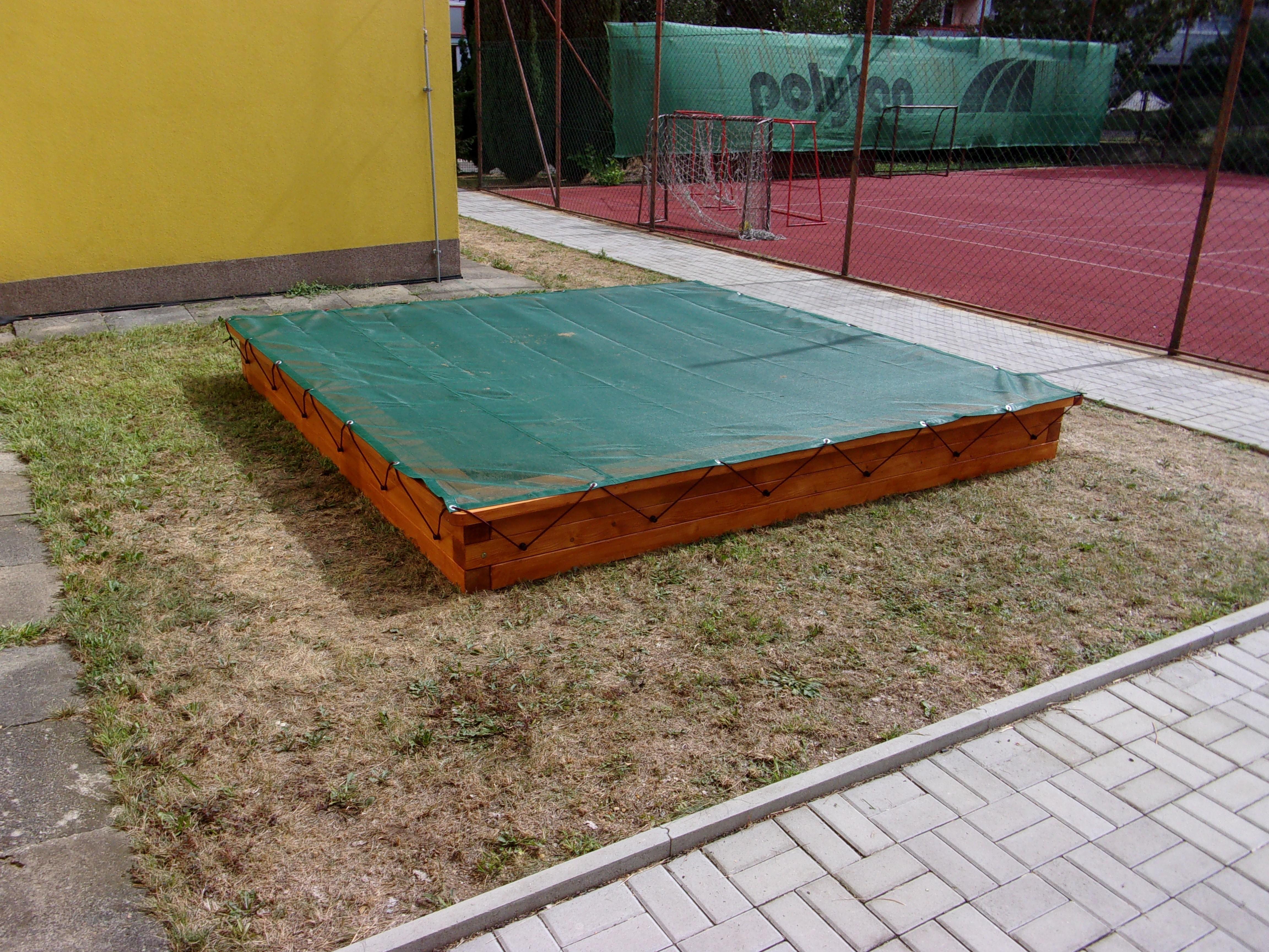 Plachta na pískoviště 3 x 3 m