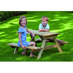Dětský piknikový stoleček z borovice