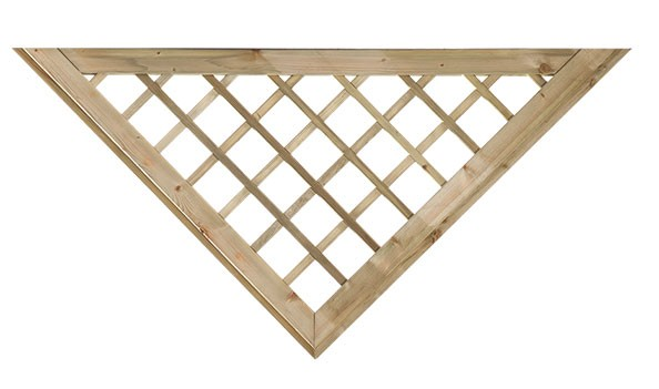 Mříž do plotových dílců
