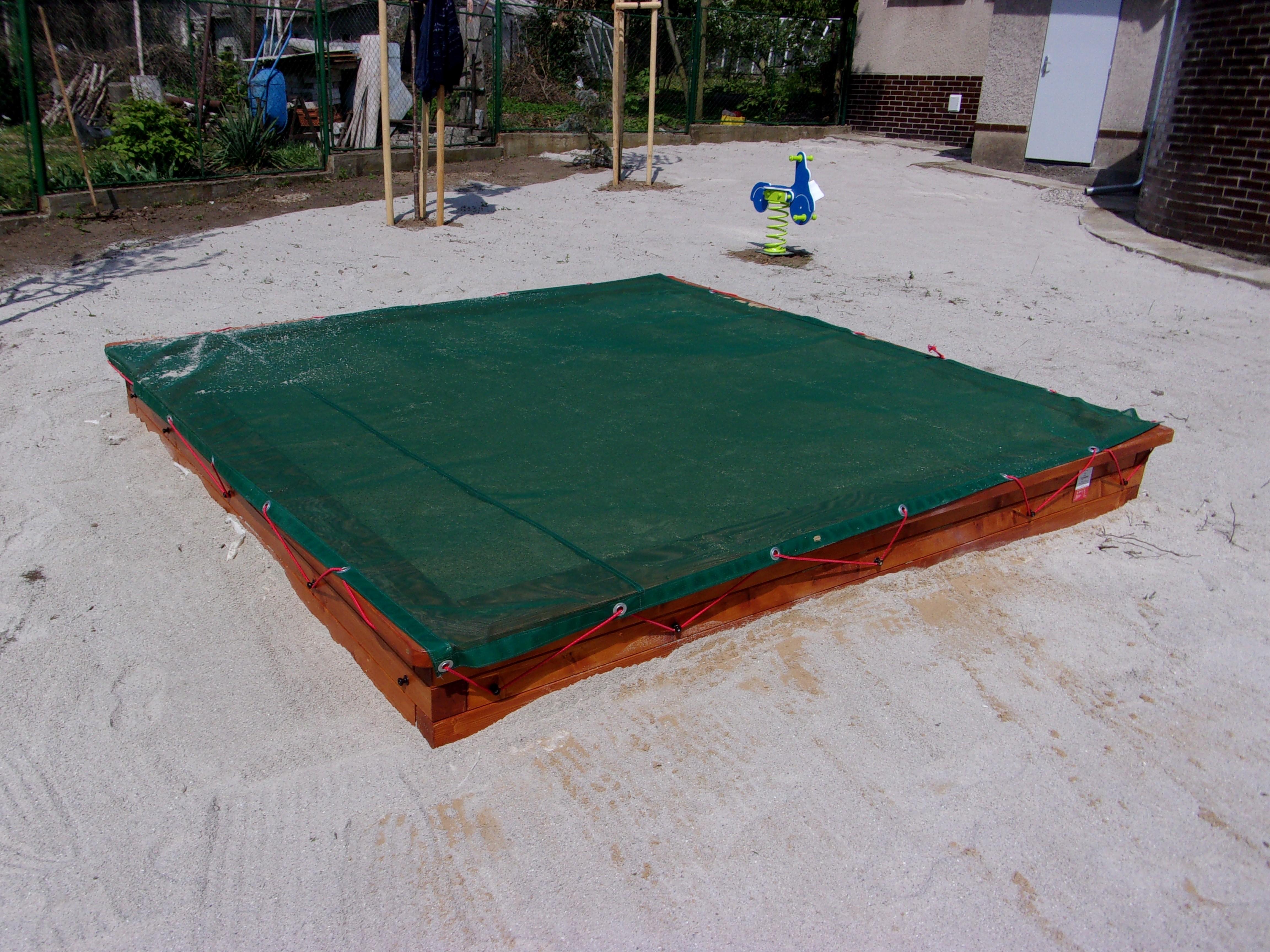 Pískoviště 3x3 m pro veřejná prostranství