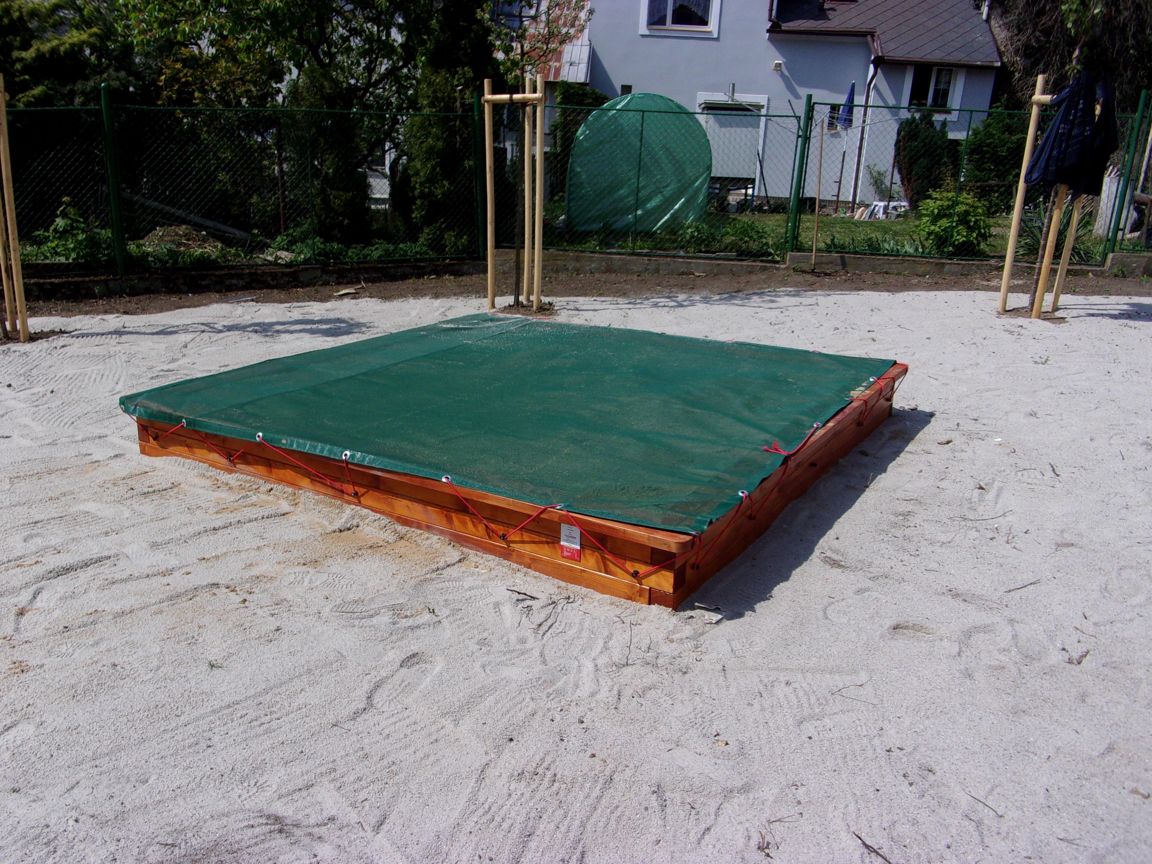 Dětské pískoviště 2 x 2 m
