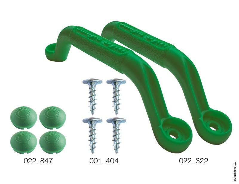 Handgrips Green - úchyty zelené