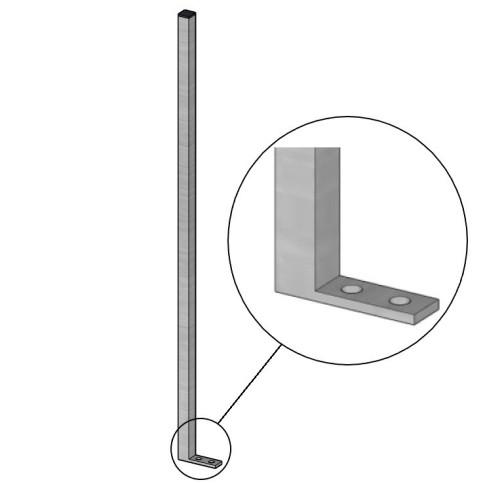 Balkonová konstrukce č. 1