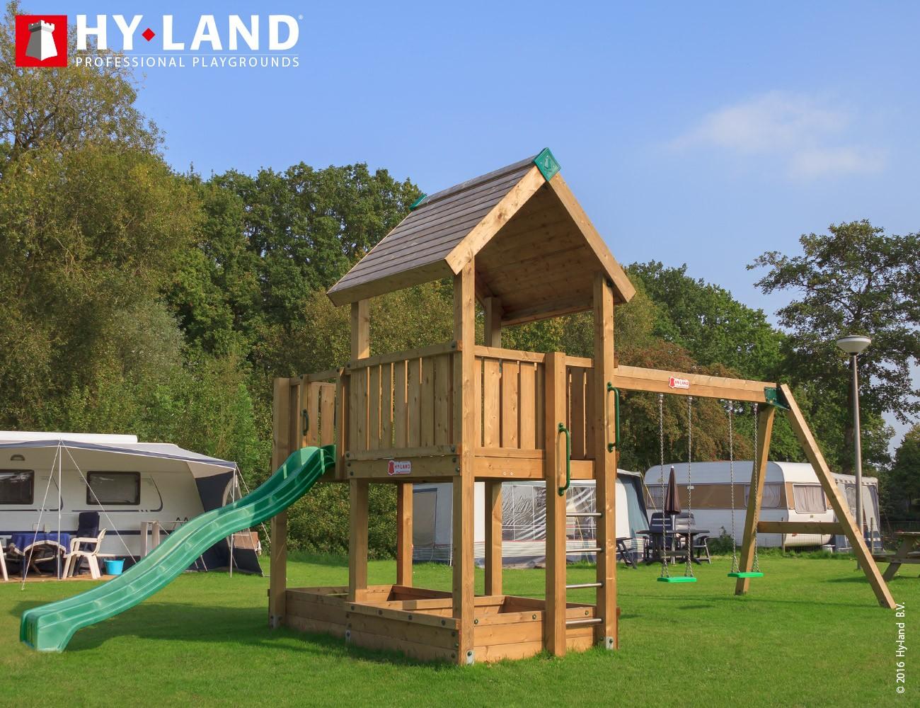 Hyland 3s se skluzavkou a houpačkami