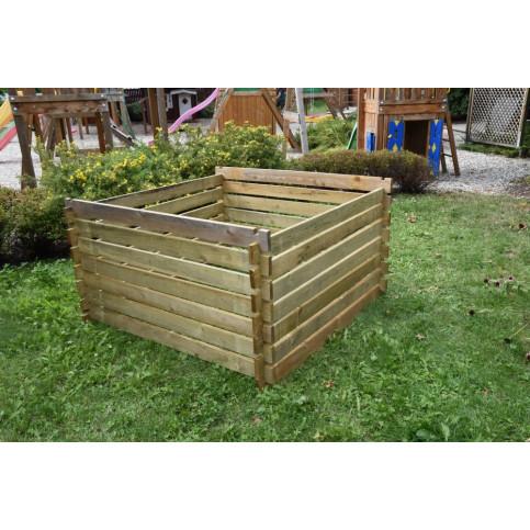 Dřevěný kompostér 150 x 150 cm