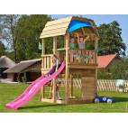 Dětské hřiště Jungle Barn se skluzavkou