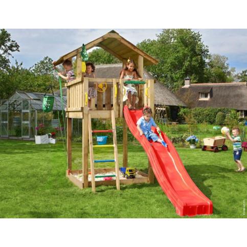 Dětské hřiště Chalet se skluzavkou