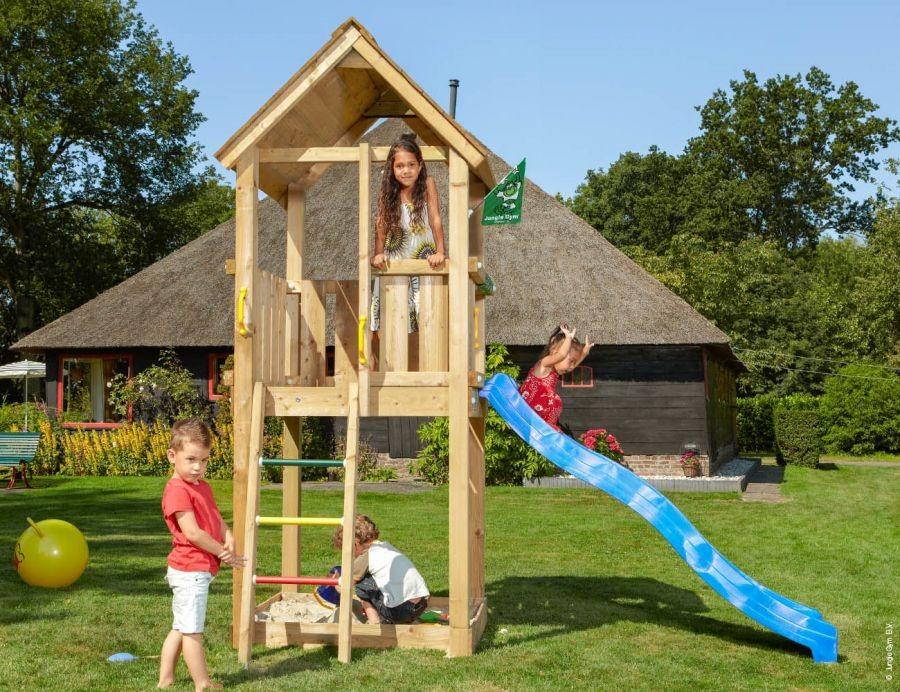 Dětské hřiště Club se skluzavkou Modrá