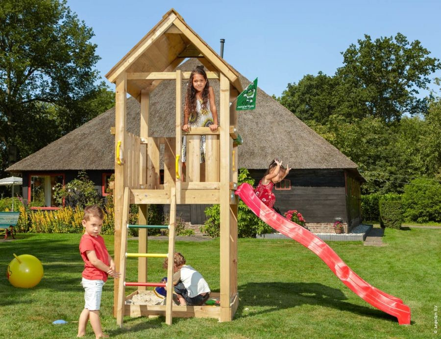 Dětské hřiště Club se skluzavkou Zelená