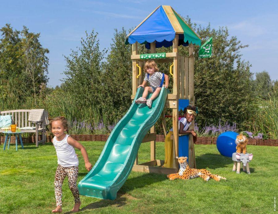 Dětské hřiště Jungle Cirque se skluzavkou Modrá