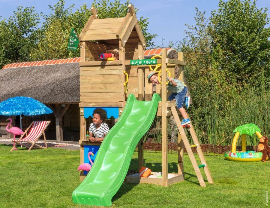 Dětské hřiště Jungle Resort se skluzavkou Fialová