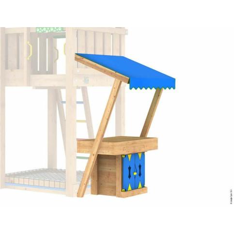 MiniMarket Module s dřevěnou stříškou