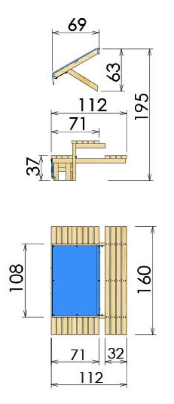 Mini Picnic Module 160cm
