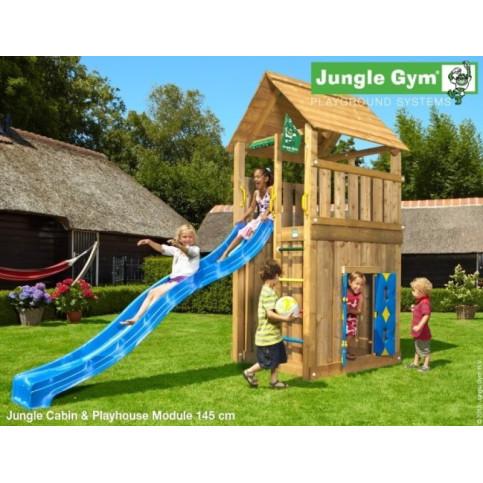 Hřiště Jungle Cabin se skluzavkou a modulem Playhouse