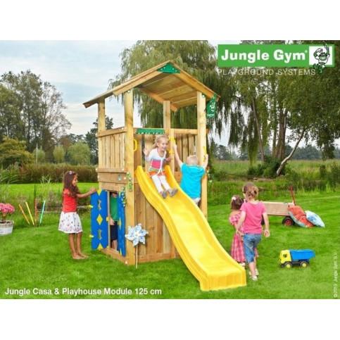 Hřiště Jungle Casa se skluzavkou a modulem Playhouse