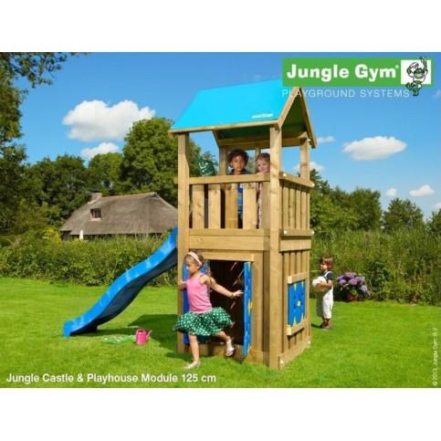 Hřiště Jungle Castle se skluzavkou a modulem Playhouse
