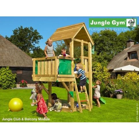 Hřiště Jungle Club se skluzavkou a modulem Balcony