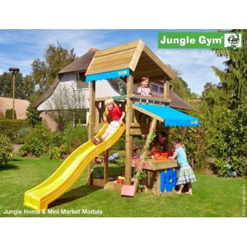 Hřiště Jungle Home se skluzavkou a modulem MiniMarket