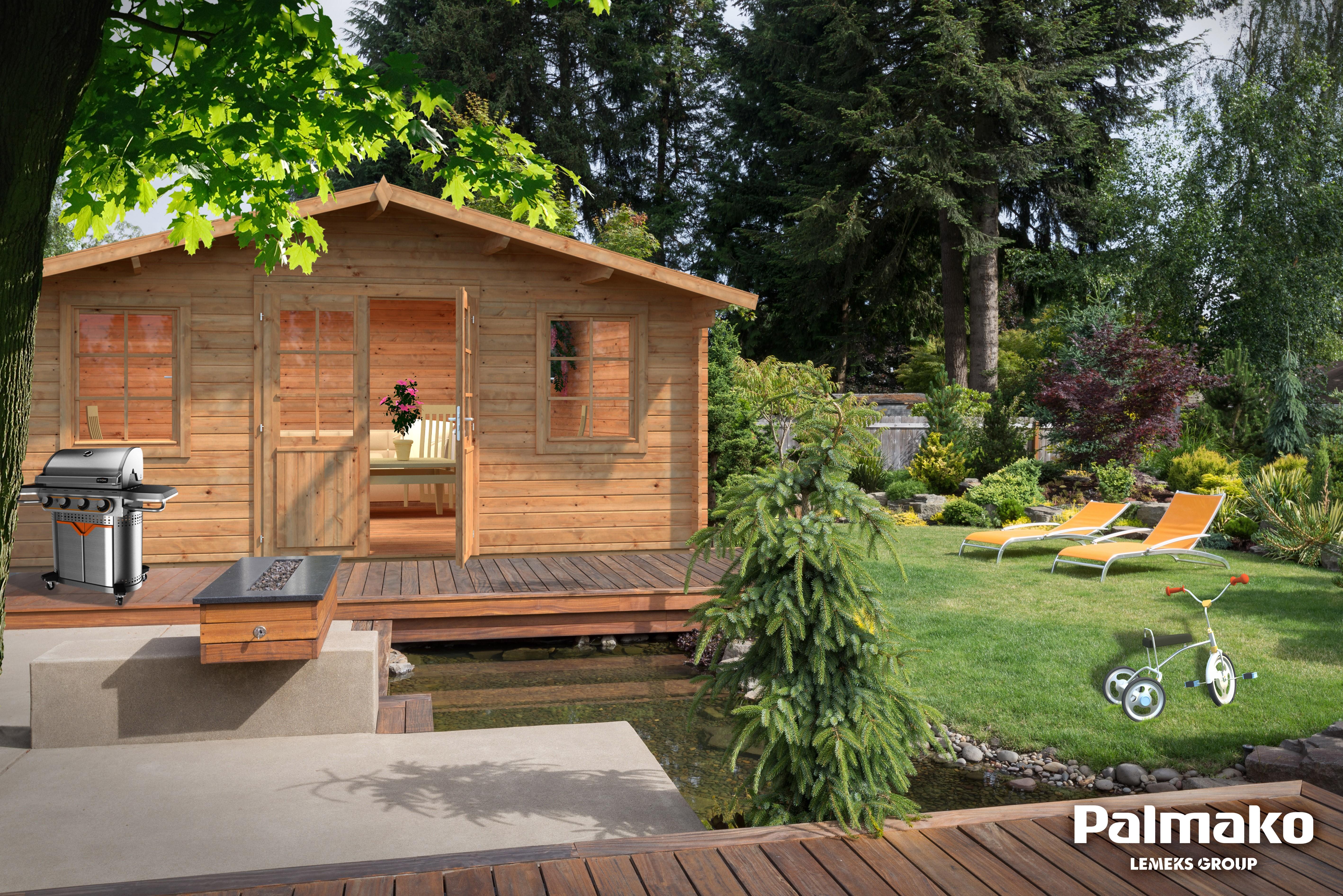 Zahradní chata Klára 17 m2