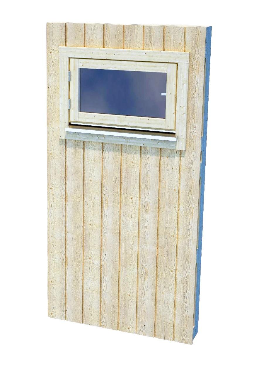 Zástěna pro Nordic+ s oknem S