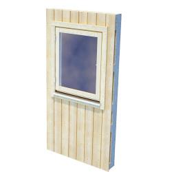 Element + Single window (Nordic +), half