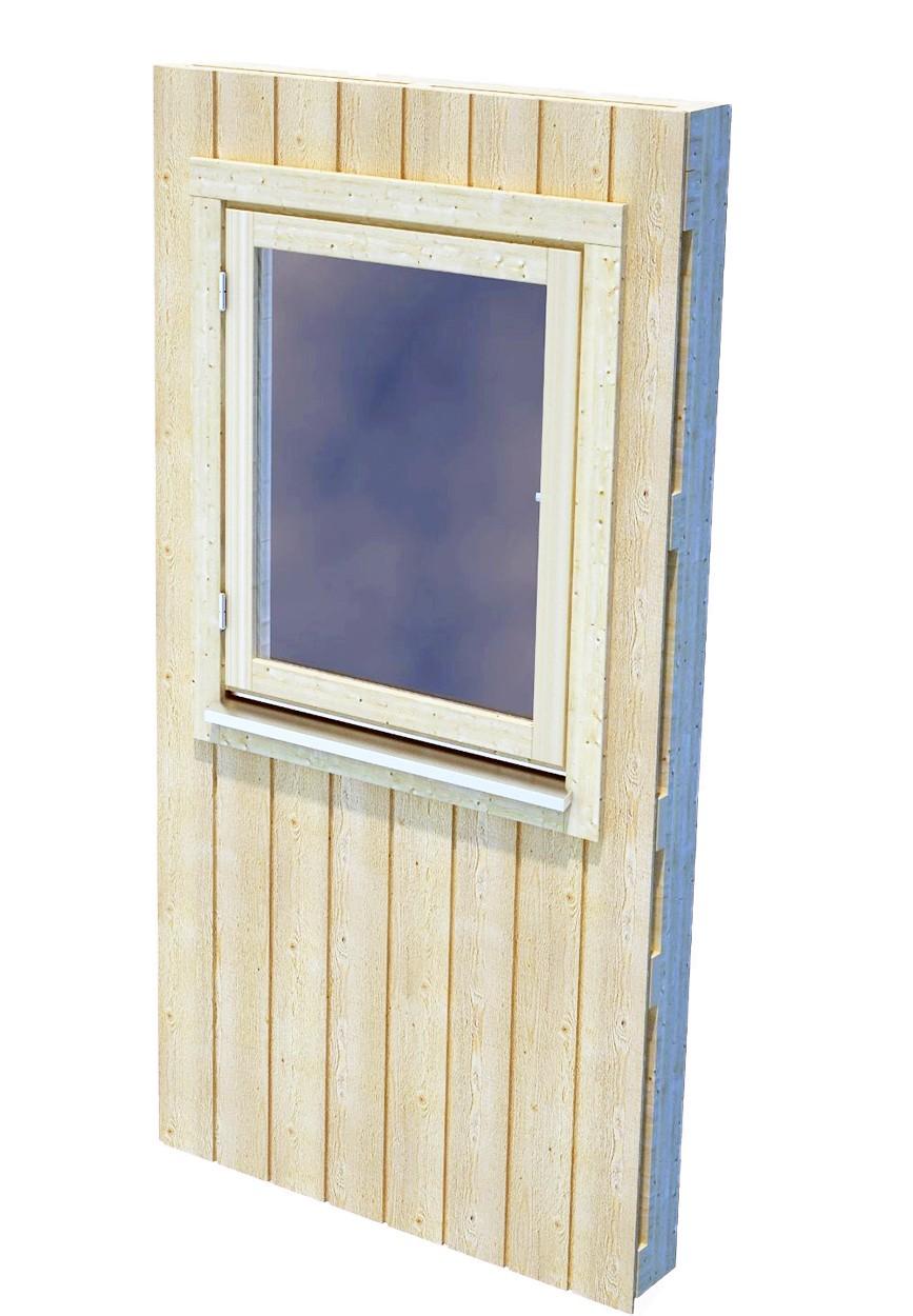 Zástěna pro Nordic+ s oknem M