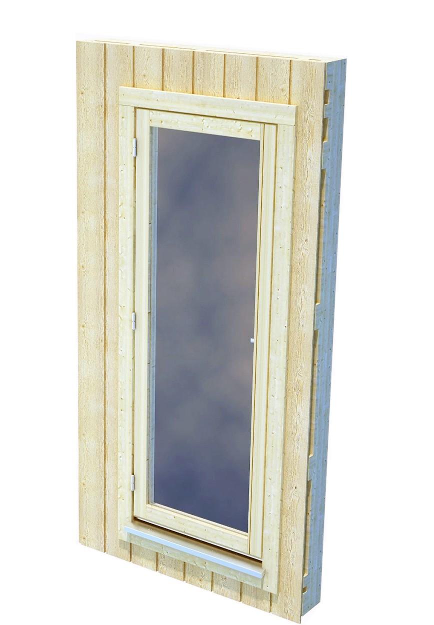 Zástěna pro Nordic+ s oknem L
