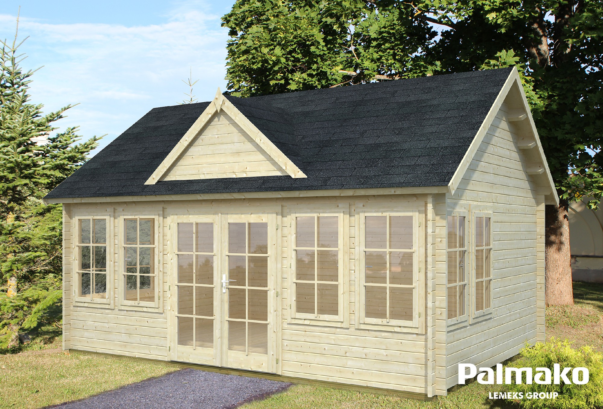Zahradní chata Klaudie 19,4 m2