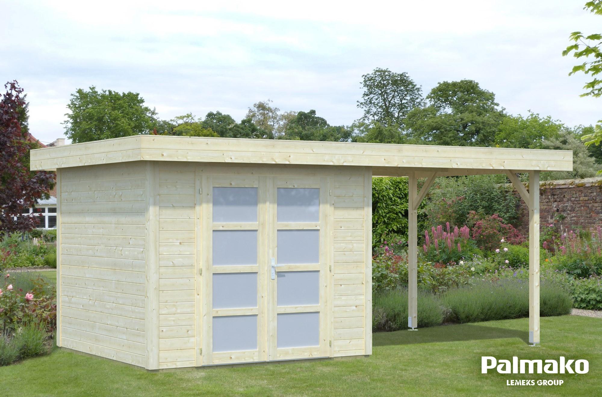 Zahradní domek Lara 6 + 5,9 m2