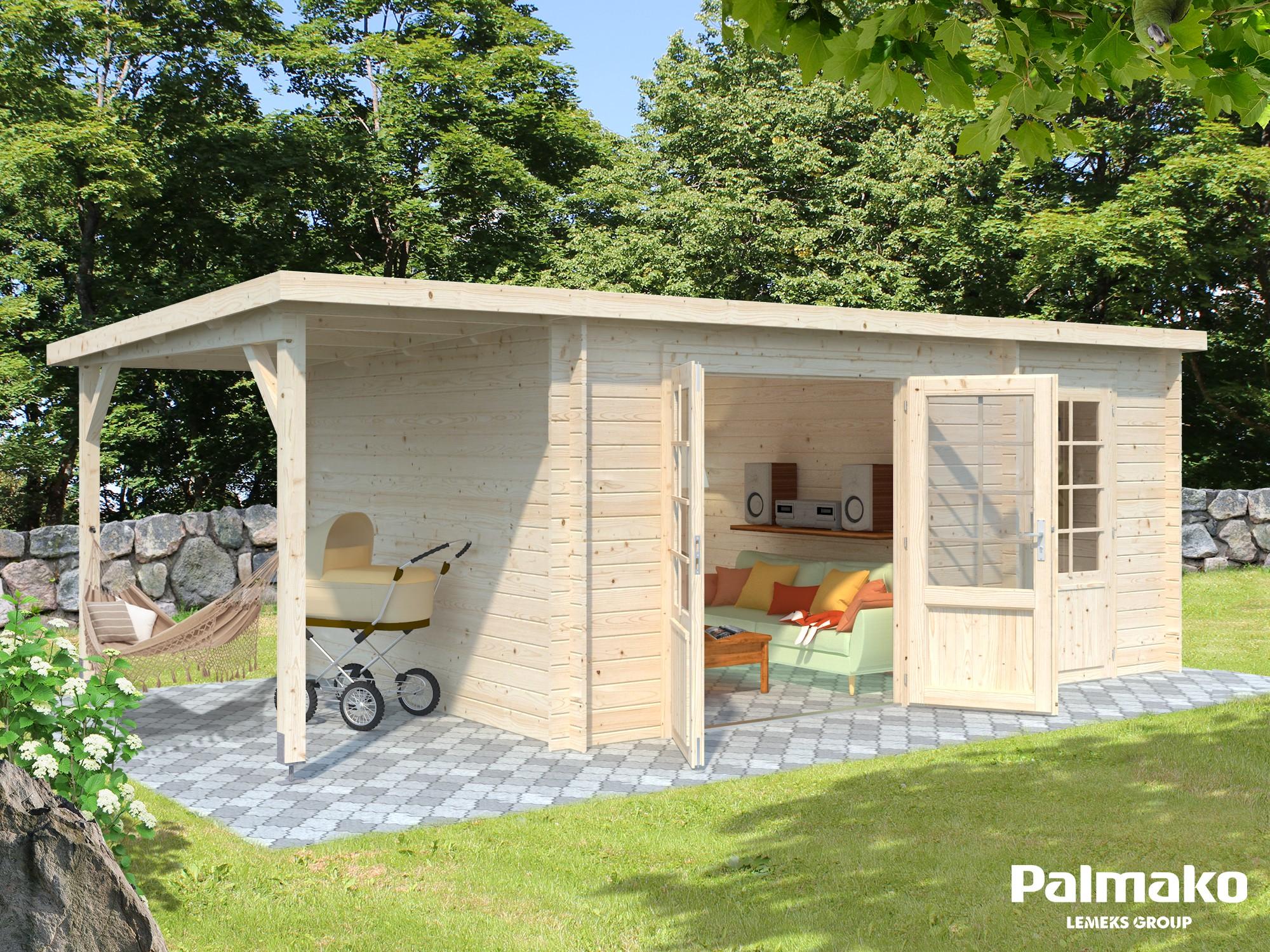 Zahradní chata Ela 13,1 + 3,9 m2