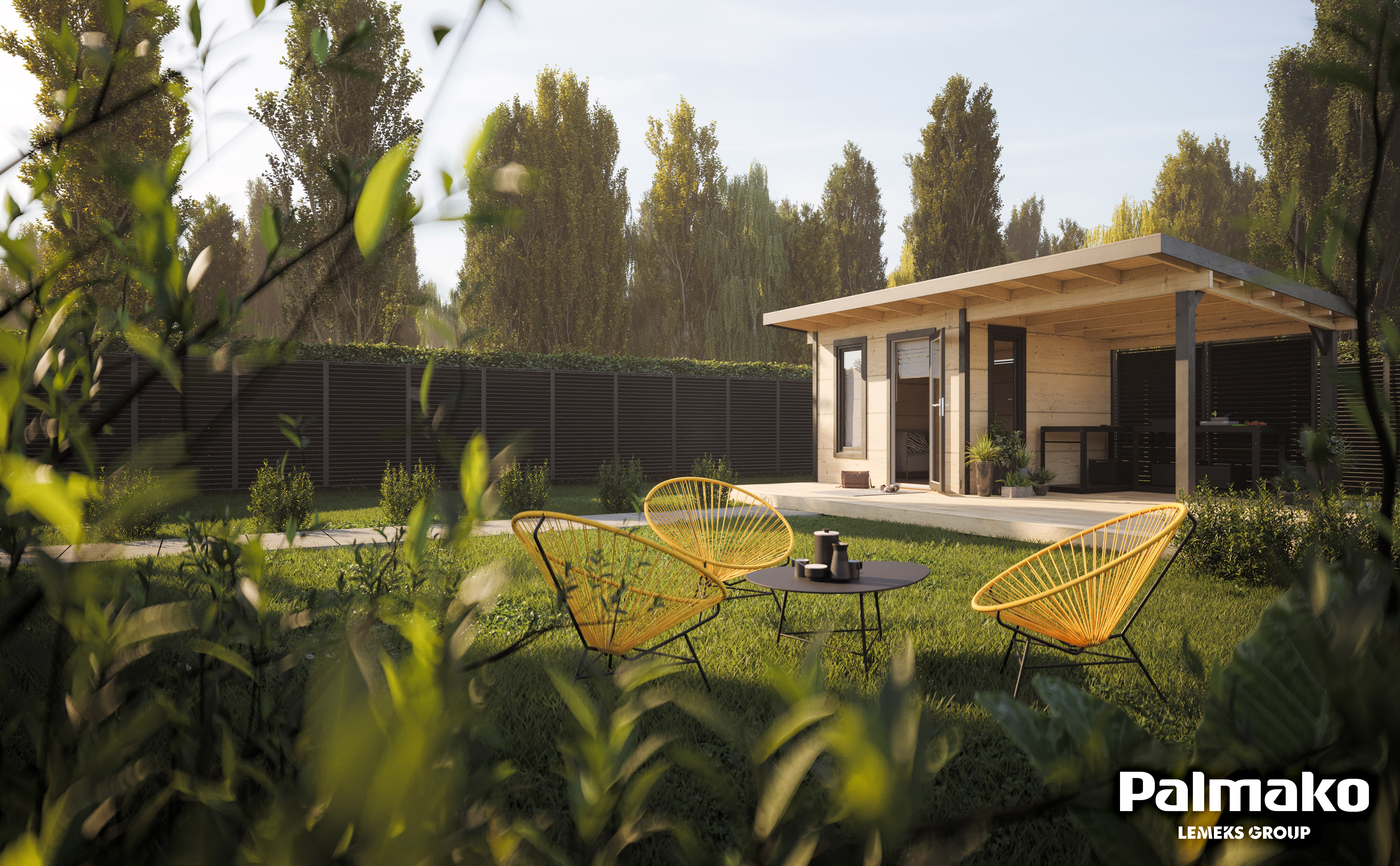 Zahradní domek Gábina 8,1 + 8,1 m2