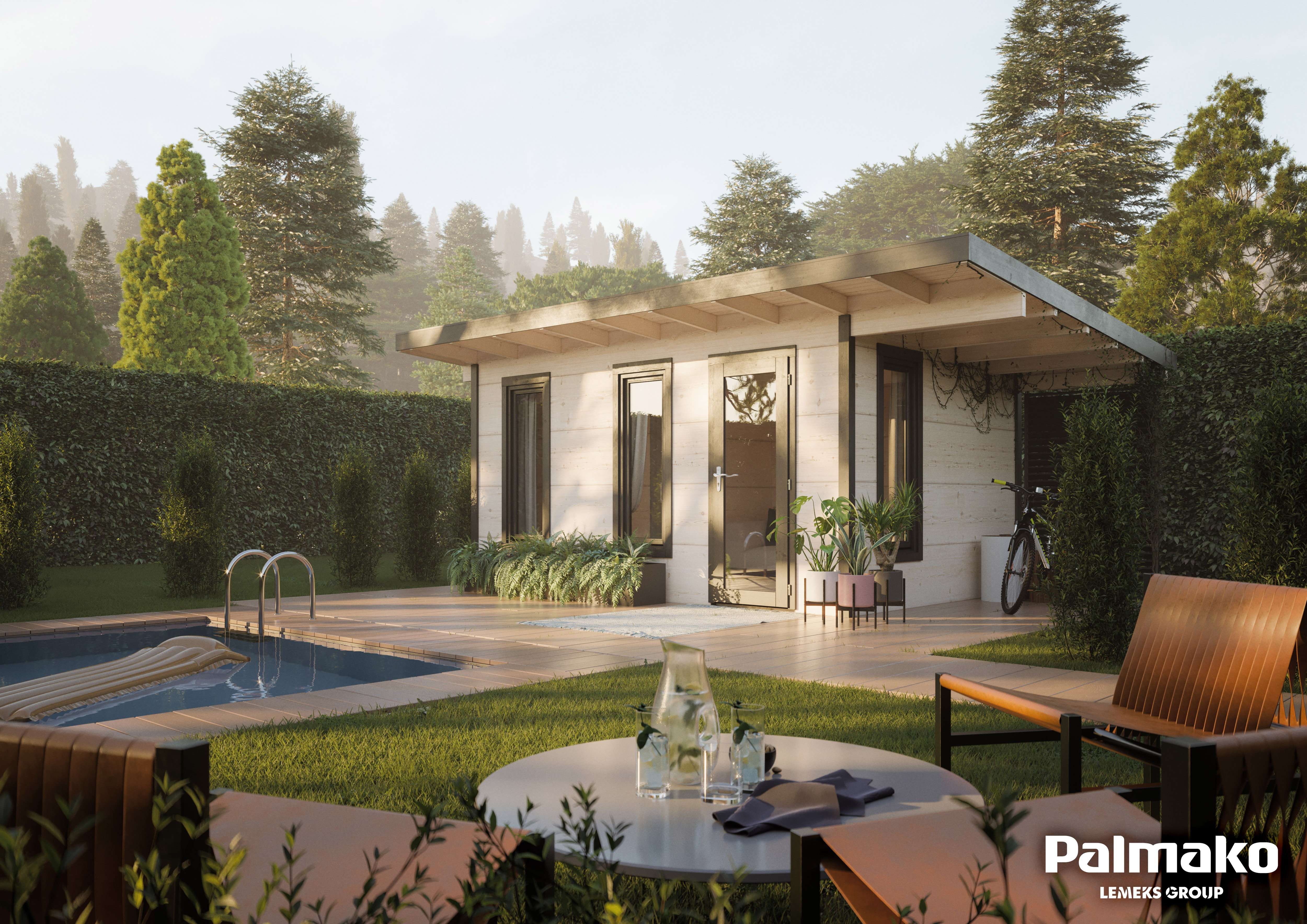 Zahradní chata Gábina 12,4 + 4,1 m2