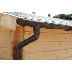 Okapový set pro pultové střechy 5 m