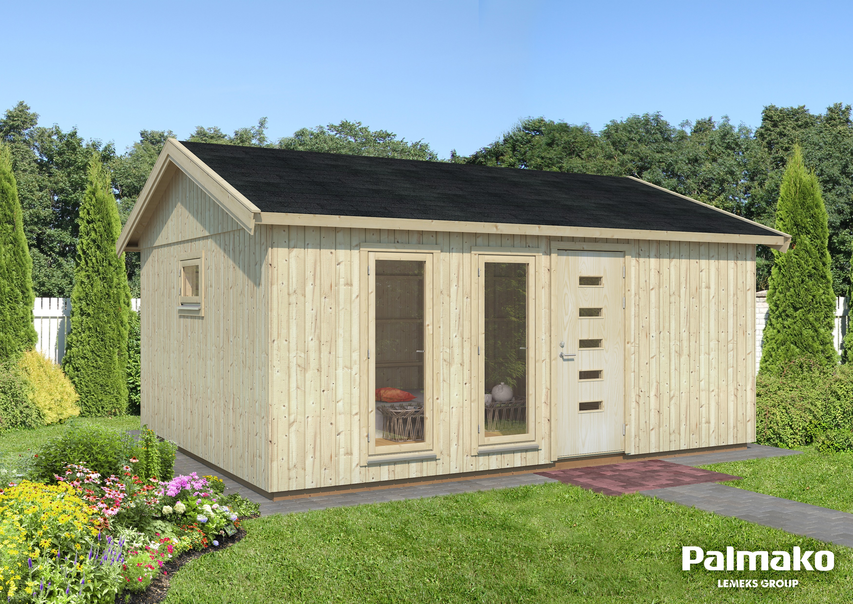 Zahradní chata Charlotte 21,5 m2