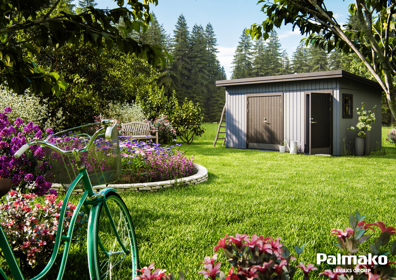 Zahradní chata Kalle 13,5 m2