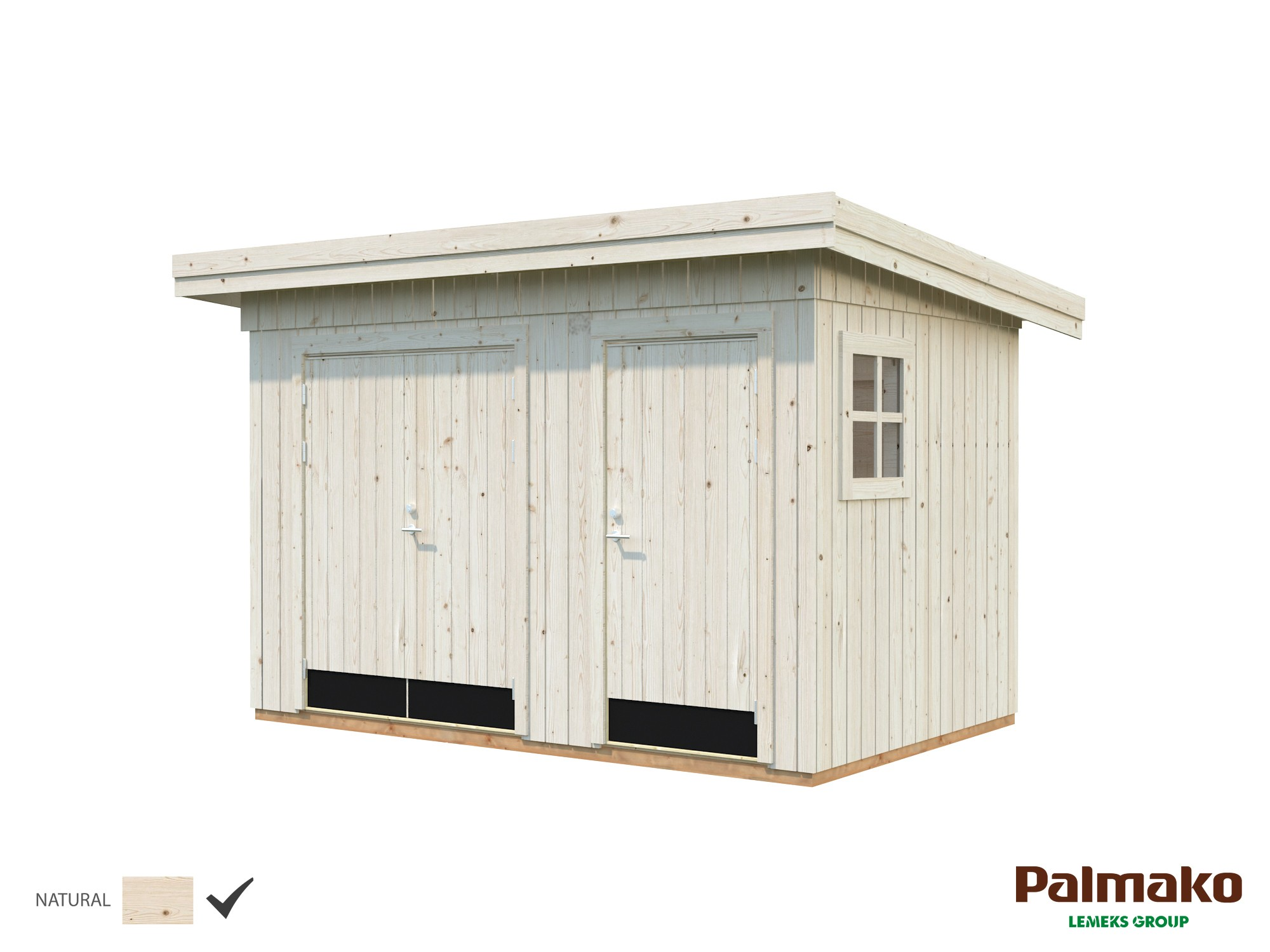 Zahradní domek Kalle 6,6 m2