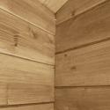 Zahradní chata Roger 19 m2 s dřevěnými vraty