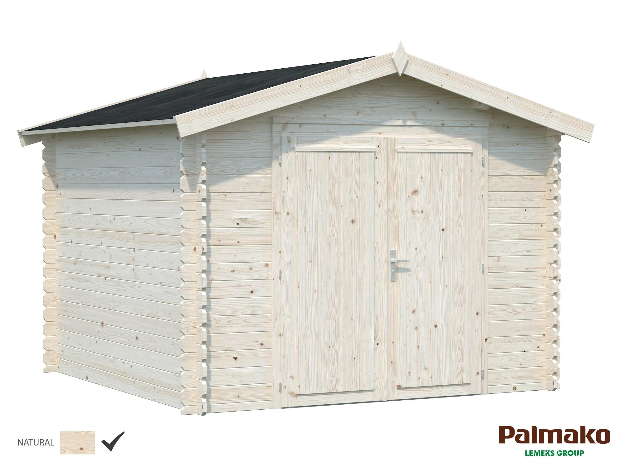 Zahradní domek Ralf 7,3 m2