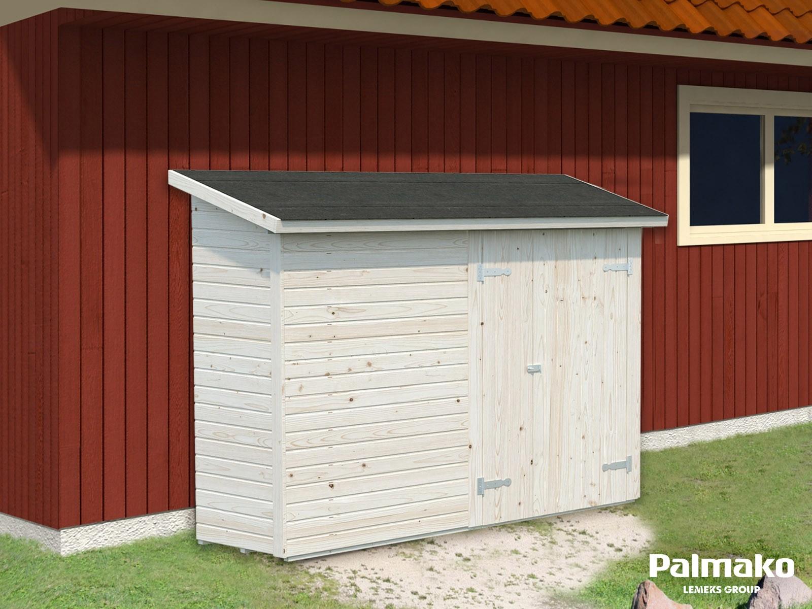 Přístavek pro zahradní chatu Leif 2,2 m2