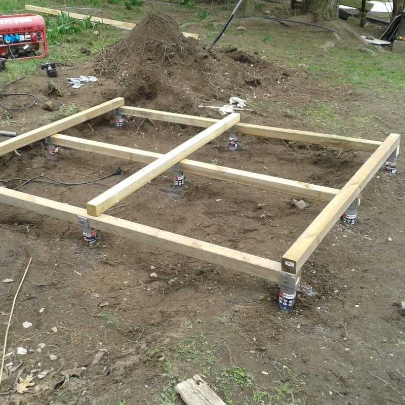 Zahradní domek Olaf 6,6 m2