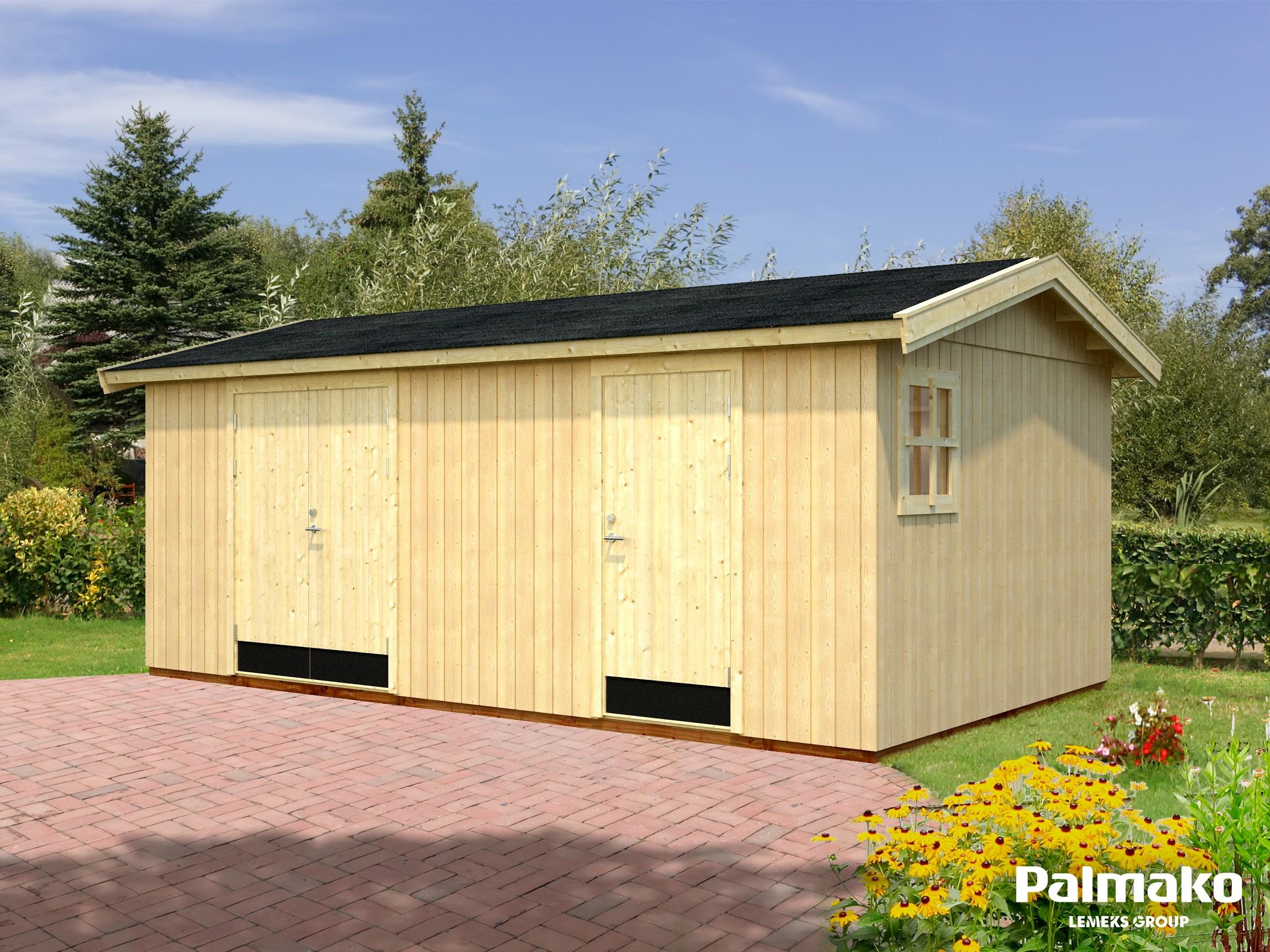 Zahradní chata Olaf 16,9 m2
