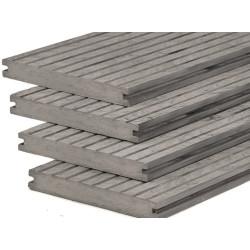 WPC podlahové prkno Excellent Classic Grey plné