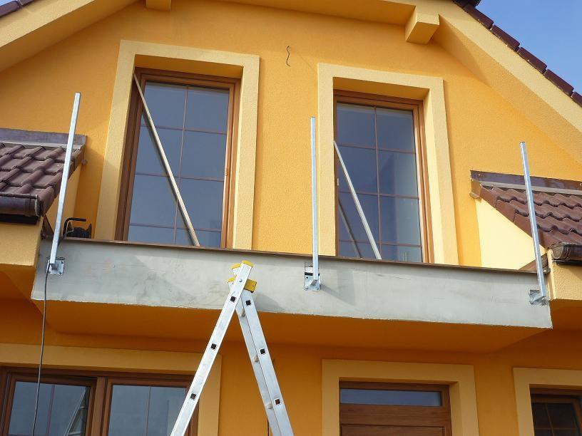 Balkonová konstrukce č. 3