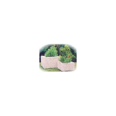 Betonový květináč Čtverec 30 x 30 x 15