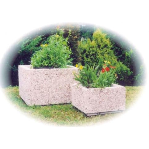 Betonový květináč Čtverec 60 x 60 x 40