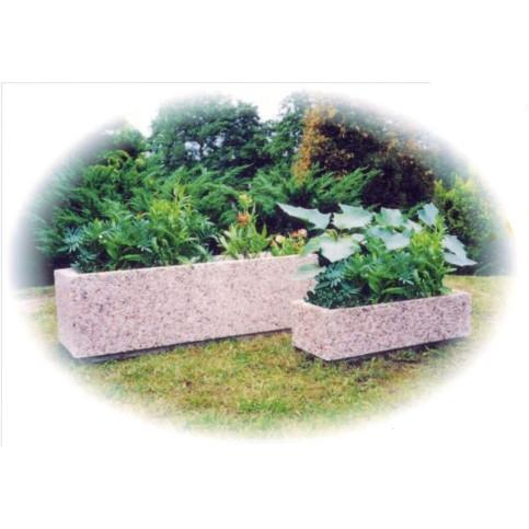 Betonový květináč obdélník 50 x 20 x 15
