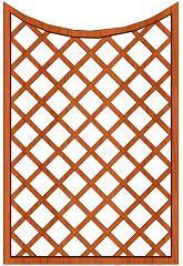 Mříž Cecílie 120 x 180/160