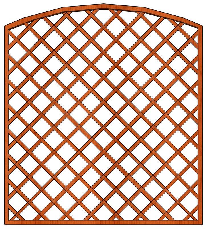 Mříž Cecílie 180 x 180/200