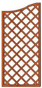 Mříž Cecílie 90 x 200/180